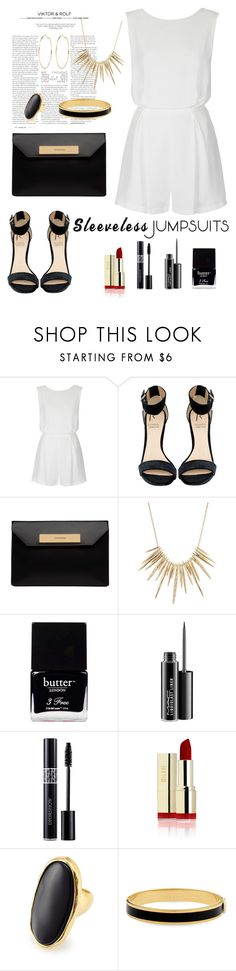 """""""Untitled #240"""" by fradoria ❤ liked on Polyvore featuring Viktor & Rolf, Topshop, Rihanna For River Island, Balenciaga, Alexis Bittar, Butter London, MAC Cosmetics, Christian Dior, Kenneth Jay Lane and Halcyon Days"""