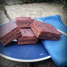 Fudgy Vegan Brownies - rich and chewy and delicious! #vegan #baking #eggfree #dairyfree #allergies
