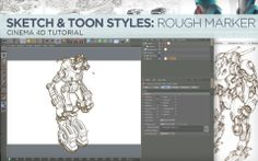 Sketch & Toon Style 1: Layered Rough Markers Tutorial on Vimeo