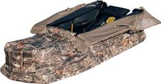 Hard Core Deluxe Mancave Layout Blind #Waterfowl