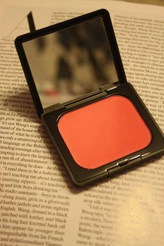 To be honest, this is my first Kat Von D beauty product. Blush Makeup, Kat Von D, Life, Coral Makeup