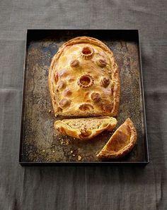 Karotten-Ricotta-Pastete mit Petersilie und Pfefferminze, Foto: Hubertus Schüler / Becker Joest Volk Verlag