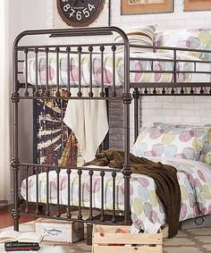 This Nobleton Bunk Bed is perfect! #zulilyfinds Bunk beds with style!