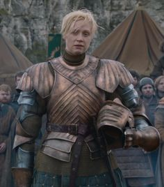 Real practical female armor in TV/Movies. No sexy skin here, these ladies are battle ready.
