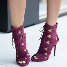 $10.74 Shoes: Sexy 'Analy' Stiletto Heels with Skin-Baring Cutouts