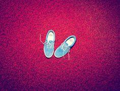 Blue Shoes by NIck Meek