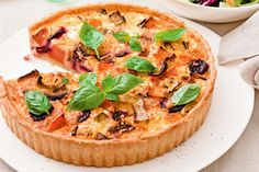 Pumpkin sage and parmesan tart recipe easy shortcrust pastry roasted autumn vegetable quiche with parmesan pastry forumfinder Gallery