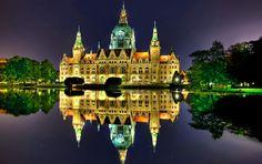 Fondo pantalla Hannover Noche