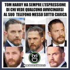 Parliamo dell'espressività di #tomhardy e del fatto che nessuno toccherà mai il suo #telefono ! #bastardidentro… www.bastardidentro.it