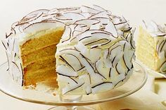 Passionfruit Layer Cake - Enjoy your special occasion with a cake that keeps on giving with every delicious mouthful. Lemon Cream Cheese Icing, Caramel Mud Cake, Yummy Treats, Sweet Treats, Easy Carrot Cake, Layer Cake Recipes, Layer Cakes, Bread And Butter Pudding, Icing Frosting