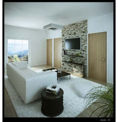Beautiful Living Room - Home and Garden Design Ideas