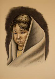 Greet van Viegen - Indian Child