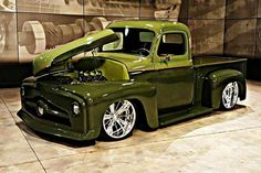 Chevy trucks aficionados are not just after the newer trucks built by Chevrolet. They are also into oldies but goodies trucks that have been magnificently preserved for long years. Custom Pickup Trucks, Classic Pickup Trucks, Old Pickup Trucks, Hot Rod Trucks, Gmc Trucks, Cool Trucks, Lifted Trucks, Lowrider Trucks, Diesel Trucks