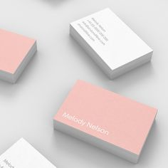 Nelson – one of our Light business card templates available to customise and order on our site.