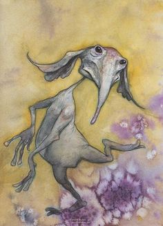 Brian Froud most famously was the illustrator behind the look of The Dark Crystal.