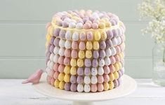 It wouldn't be Easter without indulging in some chocolate eggs, and this cake is completely covered in them from top to bottom! Learn how to make your own with this how to by Lucy Bruns.