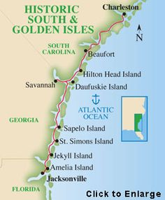 Historic South & Golden Isles Cruise