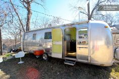 Hip Remodeled Airstream Trailer - Airbnb