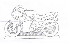 sports bike puzzle solution