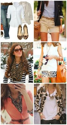 6 Ways to Wear Leopard Print