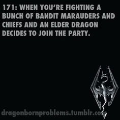 Hardly a problem.  Instant banding together with enemies to fight the dragon.  Awesome moments