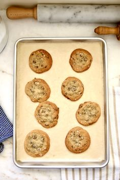 Salted Chocolate Chip Cookies   Jenny Steffens Hobick