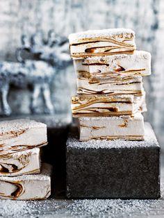 Caramel Swirl Marshmallows   Donna Hay