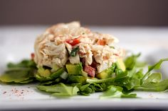 TASTY TRIX: Subtly Spicy Crab Salad with Avocado and Finger Limes, Served Three Ways