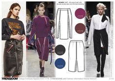 #Trendzine A/W 17-18 trends on #WeConnectFashion - Women's inspiration, Interfusion mood