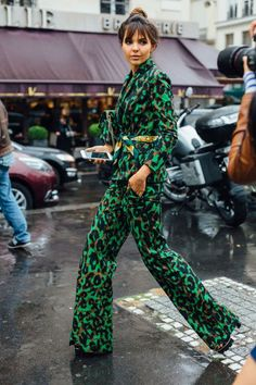 30 gorgeous street style images from the first day of this week's Couture Week in Paris for all your outfit inspiration