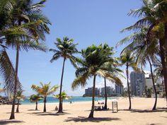 Condado Beach in San Juan, San Juan - The balnearios (public beaches) at Isla Verde, El Escambron, and Ocean Park draw sun-seekers in droves, but for a chilled-out, family-friendly vibe and the calmest waters, head to Playita del Condado, next to the Condado Plaza Hilton.