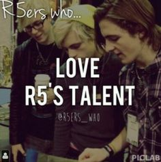 If you didn't you wouldn't be an R5er........