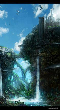 Moonworker's Castle Bonetech3D Conceptart Scifi Concepts