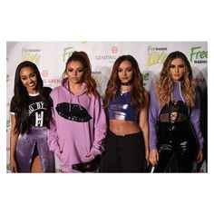 Perrie Edwards Photos - Little Mix (L-R) Leigh-Anne Pinnock, Jesy Nelson, Jade Thirlwall and Perrie Edwards attend Free Radio Live 2016 at the Genting Arena on November 2016 in Birmingham, United Kingdom. First Girl, My Girl, Little Mix Images, Little Mix Style, Litte Mix, Free Radio, Zara Larsson, How To Have Twins, Perrie Edwards