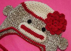 Free Crochet pattern for the Flower on Ravelry by sock monkey kook, via Flickr