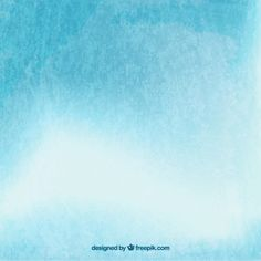 Watercolor blue sky and clouds background  Free Vector