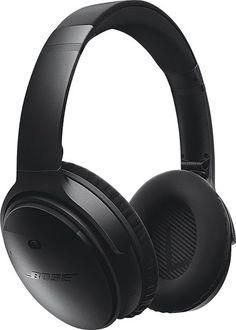 Bose® - QuietComfort® 35 wireless headphones - Black