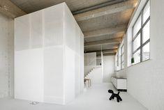 Moderne Wohnung aus Beton bei Adn Architects | Wohn-DesignTrend