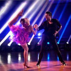 "Instagram: ""Lindsey Stirling - Mark Ballas Repost from: @leentje.the.stirlingite Who's got the moves?!…"""