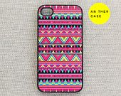 iphone 4 case iphone 4s case Aztec print tribal by AnotherCase