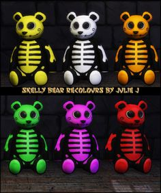 Spooky SkellyBear Recolours at Julietoon – Julie J • Sims 4 Updates
