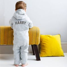 Personalised Zip Up Onesie by Jack Spratt, the perfect gift for Explore more unique gifts in our curated marketplace. Different Font Styles, Kids Apron, Christmas Baby, Christmas Presents, New Baby Gifts, Kid Names, Our Baby, 6 Years, New Baby Products