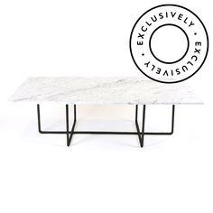 Big Ninety sofabord fra Ox Danmarq, designet av Dennis Marquart. Et flott sofabord med rett design, ...