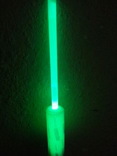 Glow in the dark waterfilter straw by Herman Gonzales