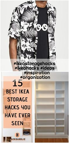 #ikeastoragehacks #ikeahacks #ideas #inspiration #organization , #ikeastoragehacks #ikeahacks #ideas #inspiration #organization... ,  #Ideas #ikeahacks #ikeastoragehacks #inspiration #organization Ikea Storage, Storage Hacks, Ikea Billy Bookcase Hack, Best Ikea, Ikea Hack, Organization Ideas, Inspiration, Home Decor, Biblical Inspiration