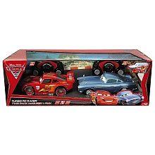 Majorette - Coffret voitures radiocommandées 1/24ème McQueen et Finn