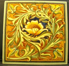 Good design from W.B.Simpson c1883 I have one in a 6x6 tile, this is a 8x8 tile.
