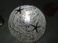 Balondan Abajur Yapımı | İpten Abajur Yapımı - YouTube