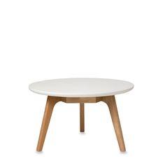 American Oak Coffee Table w/Lacquered Top | Citta Design
