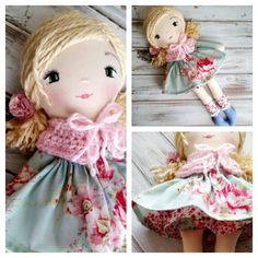 Heirloom Quality Dolls by SpunCandy - www.spuncandy.com
